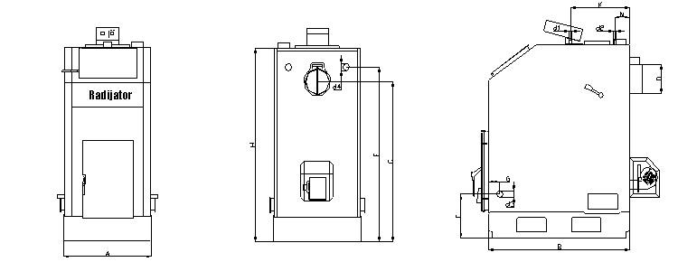 Kotlovi na biomasu serije TKAN 1 i TKAN 2